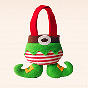 어린이를위한 부팅 사탕 가방 장식 홈 휴일 파티 사랑스러운 선물 1 개 크리스마스 요정