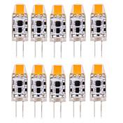 1W G4 Luces LED de Doble Pin T 1 leds COB Impermeable Decorativa Blanco Cálido Blanco Fresco Blanco Natural 100-150lm 3000-6000K DC 12 AC