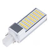 6.5W E14 G23 G24 E26/E27 LED Bi-pin 조명 T 35 LED가 SMD 5050 장식 따뜻한 화이트 차가운 화이트 750-800lm 3000/6000K AC 85-265 AC 220-240 AC 100-240 AC