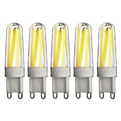 G9 Luces LED de Doble Pin T 4 leds COB Regulable Blanco Cálido Blanco Fresco 350lm 3000/6000K AC 100-240V