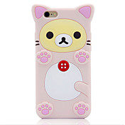 Para Antigolpes Funda Cuerpo Entero Funda Animal Suave Silicona Apple iPhone 6s Plus/6 Plus / iPhone 6s/6 / iPhone SE/5s/5