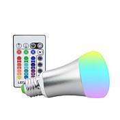 1100 lm E26/E27 Luces LED de Escenario ST64 9 leds LED de Alta Potencia Regulable Decorativa Control Remoto RGB AC 85-265V
