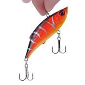 5 pcs Cebos Vibración Manivela Pececillo Señuelos duros Plástico duro Pesca de Mar Pesca de baitcasting Pesca al spinning Pesca jigging