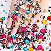 2000 pcs Nail Smykker Nail Art Design Glitters / Mote Daglig / ABS