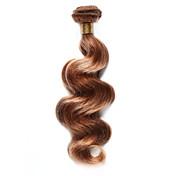 Indisk hår Krop Bølge Hårvever med menneskehår 1 Deler Hot Salg 0.1