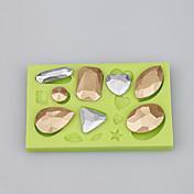 Moldes para pasteles Hielo Chocolate Cupcake Galleta Pastel Silicona Ecológica Manualidades Alta calidad Moda Herramienta para hornear