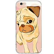 Funda Para Apple iPhone 6 iPhone 6 Plus Diseños Funda Trasera Perro Dura ordenador personal para iPhone 6s Plus iPhone 6s iPhone 6 Plus
