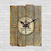 Moderno/Contemporáneo Otros Reloj de pared,Cuadrado Madera 30*30cm*3cm Interior Reloj