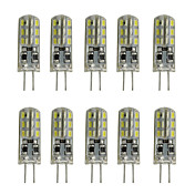 1W G4 Luces LED de Doble Pin Tubo 24 SMD 3014 80-120 lm Blanco Cálido Blanco Fresco K Decorativa DC 12 V