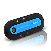 bluetooth bilmonteringssett trådløs bluetooth slank magnetisk håndfrisett for bil høyttaler telefon visir klipp bluetooth aux