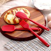 Horneando Gel de Sílice No pegajoso Pasteles / Muffins y Pastelitos / Pan / Galletas / Pies / Torta / PizzaSilicone