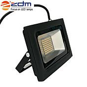 zdm 60w 3518x288pcs 5800lm vanntett ip65 ultra tynt utendørs lysstøt lys varm hvit / kald hvit (ac170-265v)