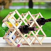 와인 선반 나무,44*43*31CM 포도주 부속품