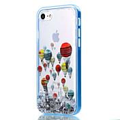 Etui Til Apple iPhone 8 iPhone 8 Plus Etui iPhone 5 iPhone 6 iPhone 7 Gjennomsiktig Mønster Bakdeksel Ballong Myk TPU til iPhone 8 Plus