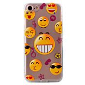 용 투명 / 패턴 케이스 뒷면 커버 케이스 카툰 하드 아크릴 Apple 아이폰 7 플러스 / 아이폰 (7) / iPhone 6s Plus/6 Plus / iPhone 6s/6