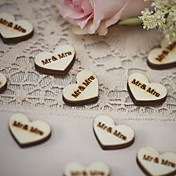 Boda / Pedida / Enamorado / San Valentín / Fiesta de Boda Madera Material ecológico Decoraciones de la boda Tema Jardín / Tema Asiático /