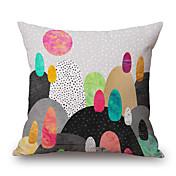 1 stk Polyester Putecover, Geometrisk Grafiske trykk Still Life Dekorativ Moderne / Nutidig