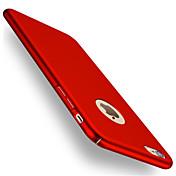 Etui Til Apple iPhone 8 iPhone 8 Plus Etui iPhone 5 iPhone 6 iPhone 7 Belegg Bakdeksel Helfarge Hard PC til iPhone 8 Plus iPhone 8 iPhone