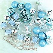 오너먼트 트리 장식품 선물 상자 눈사람 Santa 눈송이 레지덴셜 커머셜 실내 야외For휴일 훈장