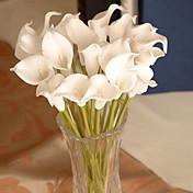 1 Gren Andre Calla-lilje Veggblomst Kunstige blomster