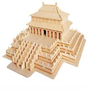 Rompecabezas Puzzles de Madera Bloques de construcción Juguetes de bricolaje Arquitectura China 1 Madera Marfil Modelismo y Construcción