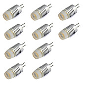 10pcs 1W 200lm G4 Luces LED de Doble Pin T Cuentas LED LED de Alta Potencia Blanco Cálido Blanco Fresco 12V