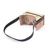 realidad virtual google cartón bricolaje neje gafas 3d diadema con NFC para el teléfono móvil 4.7 pulgadas