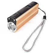 Linternas LED Cargadores Correa para Linterna LED 300 Lumens 3 Modo LED 1 x Batería 18650 Mini Recargable Impermeable Tamaño Compacto