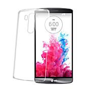Funda Para LG G2 LG G3 LG LG G5 LG G4 Funda LG Transparente Funda Trasera Color sólido Suave TPU para