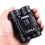 PANDA 22X25 Binoculares Alta Definición Prisma de azotea Militar Alcance de la localización Genérico Maletín Militar Uso General Caza BAK4