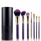 7pcs Makeup børster Profesjonell Børstesett Syntetisk hår / Kunstig fiber børste Hypoallergenisk / Begrenser bakterier Middels børste /