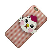 Para Espejo Manualidades Funda Cubierta Trasera Funda Animal Suave TPU para Apple iPhone 7 Plus iPhone 7