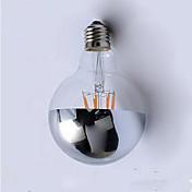 E26/E27 Bombillas de Filamento LED G95 4 LED Integrado 400 lm Blanco Cálido 2700 K Decorativa AC220 V