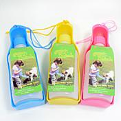 L Gato Perro Cuencos y Botellas de Agua Mascotas Cuencos y Alimentación Portátil Amarillo Rojo Azul