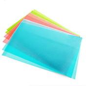 4 pieza alfombra buque frigorífico antibacteriano almohadilla cajón del gabinete de corte a medida (de color ramdon)