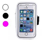 제품 iPhone X iPhone 8 iPhone 8 Plus 케이스 커버 방진 방수 윈도우 팔밴드 암밴드 케이스 한 색상 소프트 텍스타일 용 Apple iPhone X iPhone 8 Plus iPhone 8 아이폰 7 플러스 아이폰 (7)