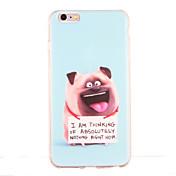 Para Antigolpes Diseños Funda Cubierta Trasera Funda Animal Suave TPU para AppleiPhone 6s Plus iPhone 6 Plus iPhone 6s iphone 6 iPhone