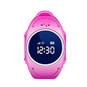 Barneklokker GPS Vannavvisende Kalorier brent Pedometere Distanse måling Informasjon Anti-lost Sport Aktivitetsmonitor Søvnmonitor Stopur