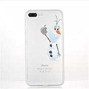 Para Diseños Funda Cubierta Trasera Funda Dibujos Suave TPU para AppleiPhone 7 Plus iPhone 7 iPhone 6s Plus iPhone 6 Plus iPhone 6s