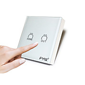 Fyw touch controlador remoto completo y completo de un control remoto controla todas las luces coinciden con el uso del receptor