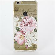 Etui Til Apple iPhone 7 Plus iPhone 7 Gjennomsiktig Mønster Bakdeksel Blomsternål i krystall Hard PC til iPhone 7 Plus iPhone 7 iPhone 6s