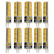 10pcs 3W 250-300lm G4 Luces LED de Doble Pin T 72 Cuentas LED SMD 5730 Decorativa Blanco Cálido / Blanco Fresco 12V / 110-130V