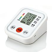 Brazo tipo monitor de presión arterial con pantalla de tres colores y lectura de voz