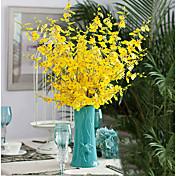 1 Rama Seda Otros Crisantemo Flor de Mesa Flores Artificiales