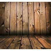 5 * 7 피트 큰 사진 배경 배경 스튜디오에 대 한 고전적인 패션 나무 나무 바닥 전문 사진 작가