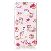 For Huawei P8 Lite (2017) P10 Lite Case Cover Unicorn Pattern HD Painted TPU Material IMD Process Phone Case P8 P9 Lite P10