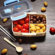 1 unid plástico almuerzo comida cocina almacenamiento de alimentos de alta calidad nuevo estilo