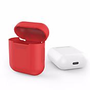 사과 에어 포드 용 에어 포드 실리콘 투명 케이스 보호 커버 파우치 안티 프로텍터 우아한 슬리브