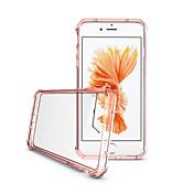 Funda Para Apple iPhone 7 Plus iPhone 7 Ultrafina Traslúcido Transparente Funda Trasera Color sólido Otros Diseño Geométrico Dura Acrílico