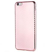 Funda Para Apple iPhone 7 Plus iPhone 7 Antipolvo Funda Trasera Color sólido Suave TPU para iPhone 7 Plus iPhone 7 iPhone 6s Plus iPhone